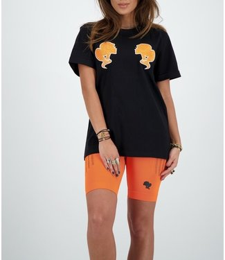 Reinders Reinders : T-shirt Reinders-Black Orange