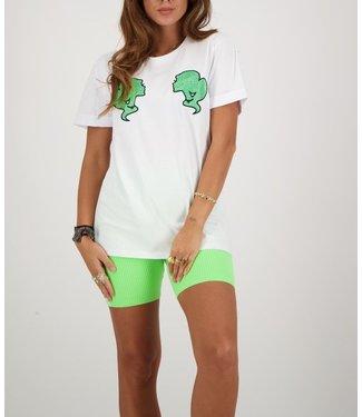 Reinders Reinders : T-shirt Reinders-White Neon