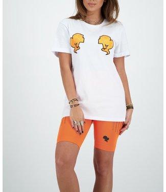 Reinders Reinders : T-shirt Reinders-White Orange