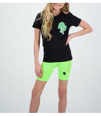 Reinders Reinders :Kids T-shirt-Black Neon
