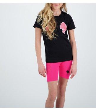 Reinders Reinders : Kids T-shirt-Black Pink