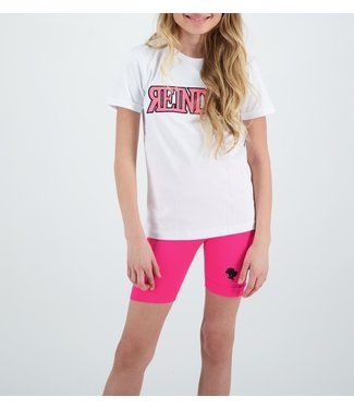 Reinders Reinders : Kids T-shirt Wording-White Pink