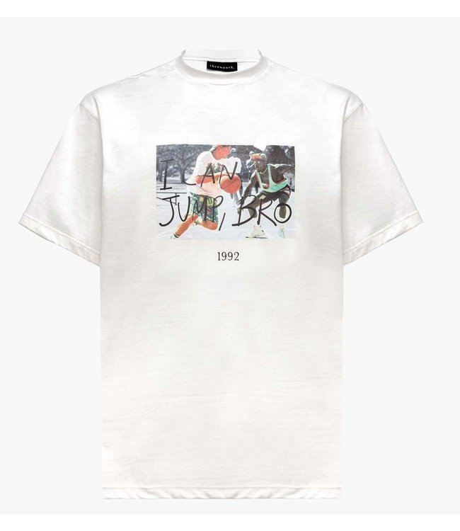 Throwback Throwback : T-shirt White man-White
