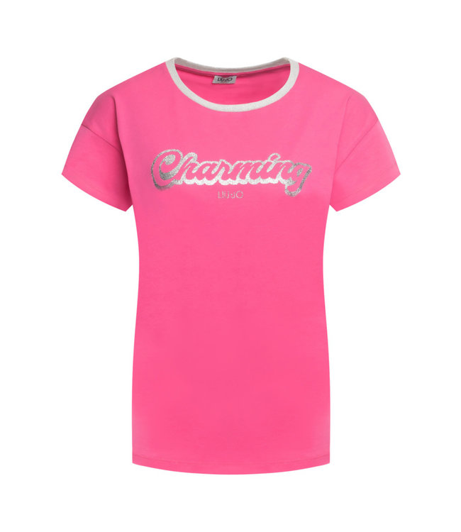 LiuJo LiuJo : T-shirt Charming -WA0231-Pink
