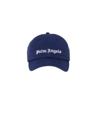 Palm Angels Palm Angels : Cap Classic Logo-Blue