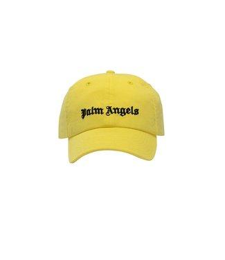 Palm Angels Palm Angels : Cap Classic Logo-Yellow