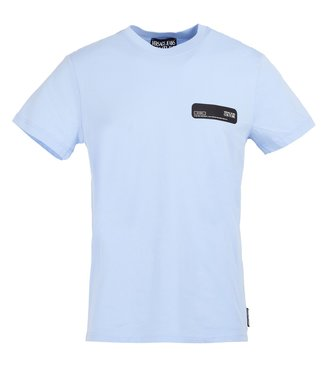 Versace Jeans couture Versace jeans : T-shirt Patch-Blue