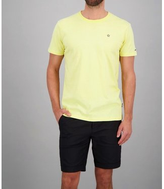 Airforce Airforce : T-shirt Basic outline star Yellow