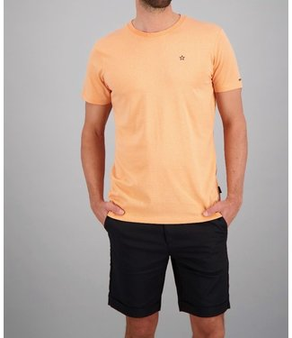 Airforce Airforce : T-shirt Basic outline star Peach
