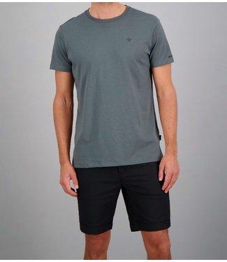 Airforce Airforce : T-shirt Basic outline star Gun metal