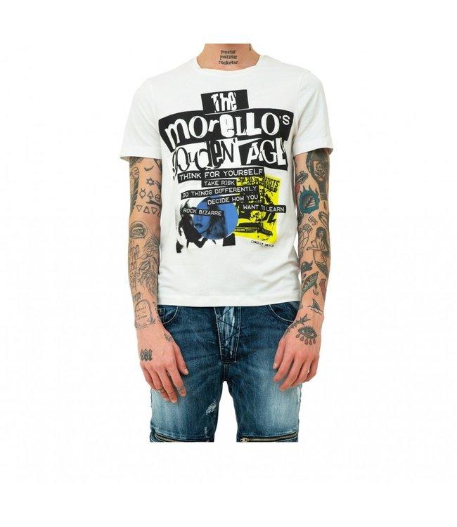 Frankie Morello Frankie Morello :T-shirt fms0753ts–White