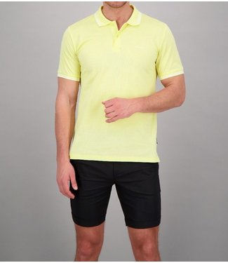 Airforce Airforce : Polo Double stripe Yellow