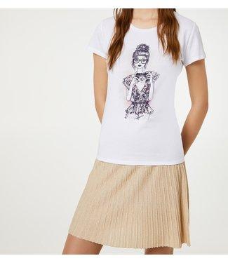 LiuJo LiuJo : T-shirt photo.-White