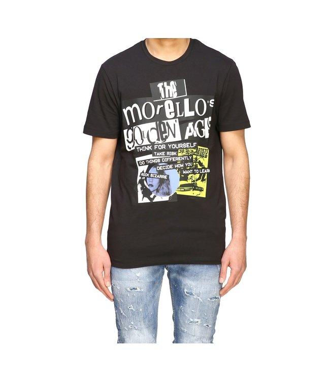 Frankie Morello Frankie Morello :T-shirt fms0753ts–Black