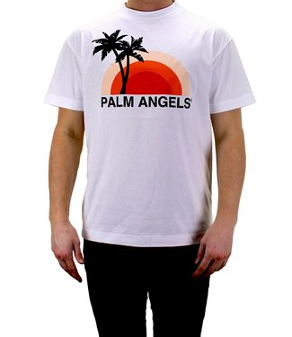 Palm Angels Palm Angels : Tee Sunset-White