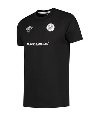 Black Bananas Black bananas : F.C. basic tee-Black