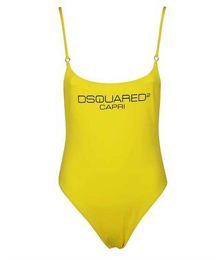 Dsquared2 Dsquared2 : Badpak Capri yellow