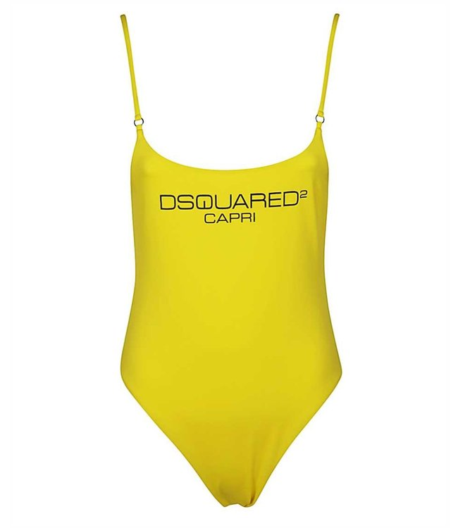 Dsquared2 Dsquared2 : Badpak Capri yellow
