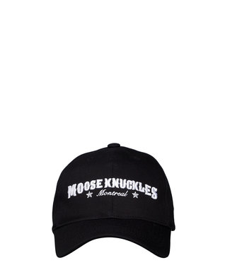 Moose knuckles Moose knuckles : Cap Western script-Black