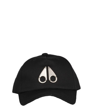 Moose knuckles Moose knuckles : Cap Icon Logo-Black-Silver