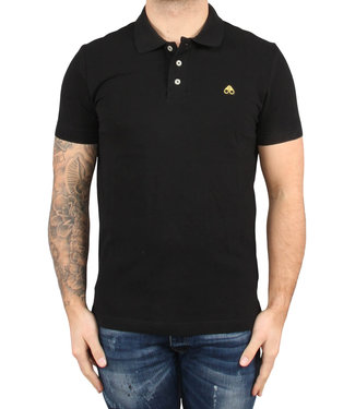 Moose knuckles Moose knuckles : Mens gold Polo-Black