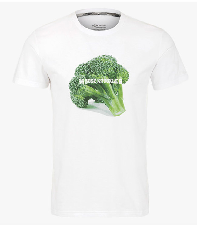 Moose knuckles Moose knuckles : T-shirt Broccoli-White