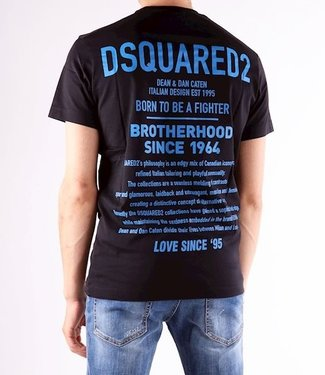 Dsquared2 Dsquared2 : T-shirt Back logo-Black