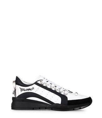 Dsquared2 Dsquared2 : Sneaker-Bianco/Nero