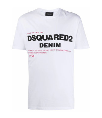 Dsquared2 Dsquared2 : T-shirt Logo White
