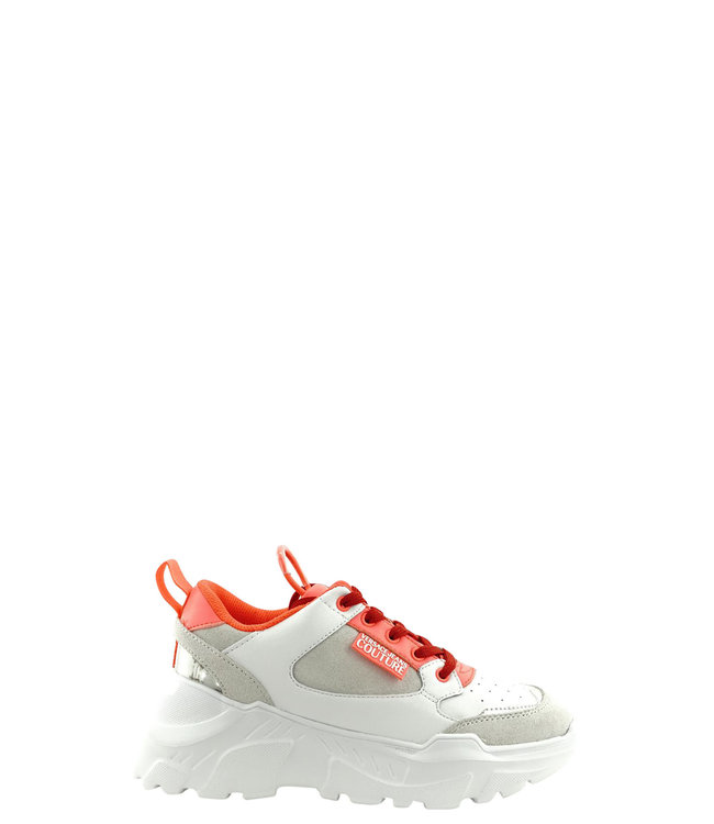 Versace Jeans couture Versace Jeans : Sneakers  White pink