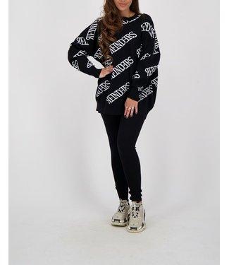 Reinders Reinders : Sweater-black-white
