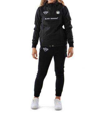 Black Bananas Black bananas : Fc Anorak fleece jacket Black-