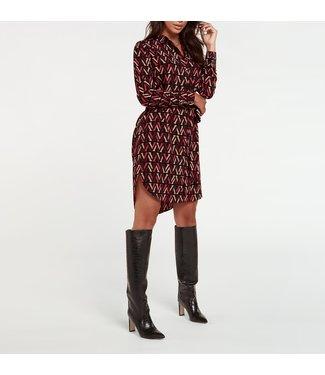 Joshv Joshv  : Dress Rozamund-Black V print