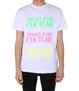 Versace Jeans couture Versace Jeans : T-shirt Rubber slim White