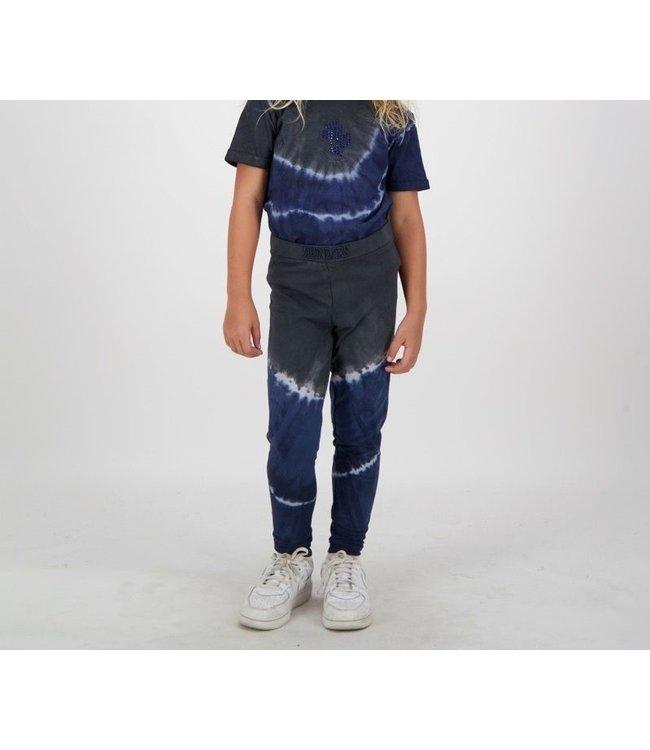 Reinders Reinders : Kids pants Tie Dye Dark blue-black