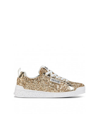 Versace Jeans couture Versace Jeans :  Sneakers Gold glitter