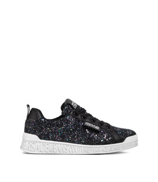 Versace Jeans couture Versace Jeans : Sneakers Black glitter