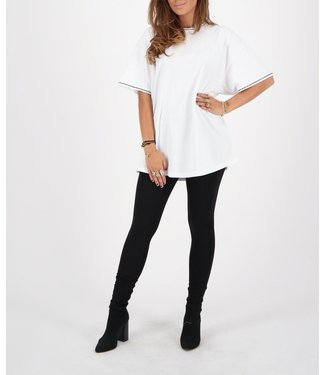Reinders Reinders :T-shirt Diamonds White