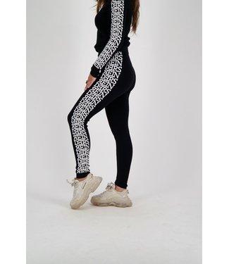Reinders Reinders : Pants 3D artwork sides-Black
