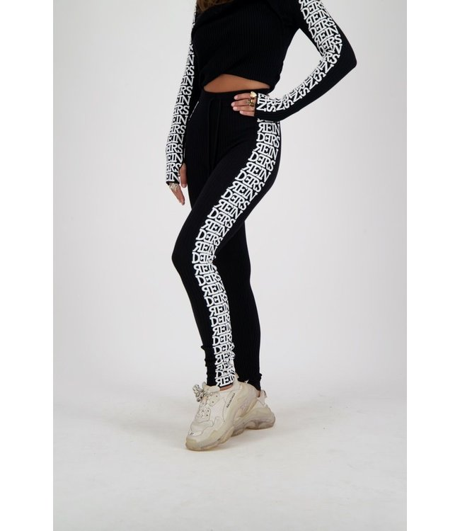 Reinders Reinders : Pants twin set 3D- Black