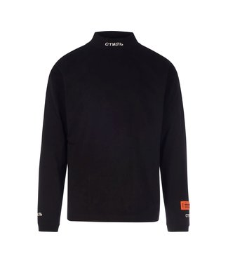 Heron Preston Heron Preston : Long sleeve turtle neck СТИЛЬ-Black