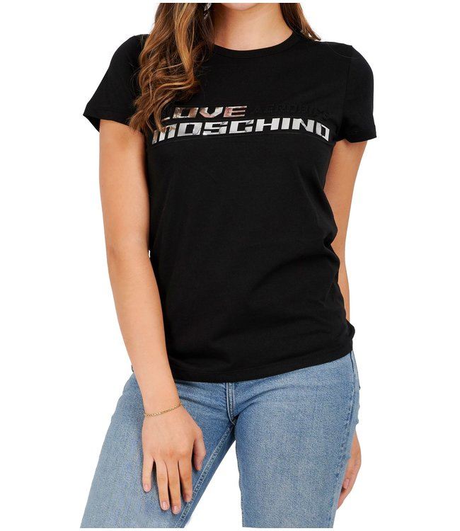 Love moschino Love Moschino : T-shirt Aerobics-Black