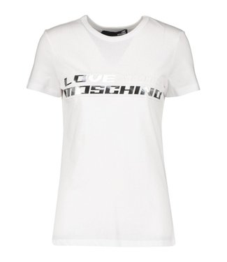 Love moschino Love Moschino : T-shirt Aerobics-White