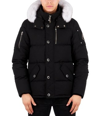 Moose knuckles Moose knuckles : 3Q Jacket Black-Natural fur