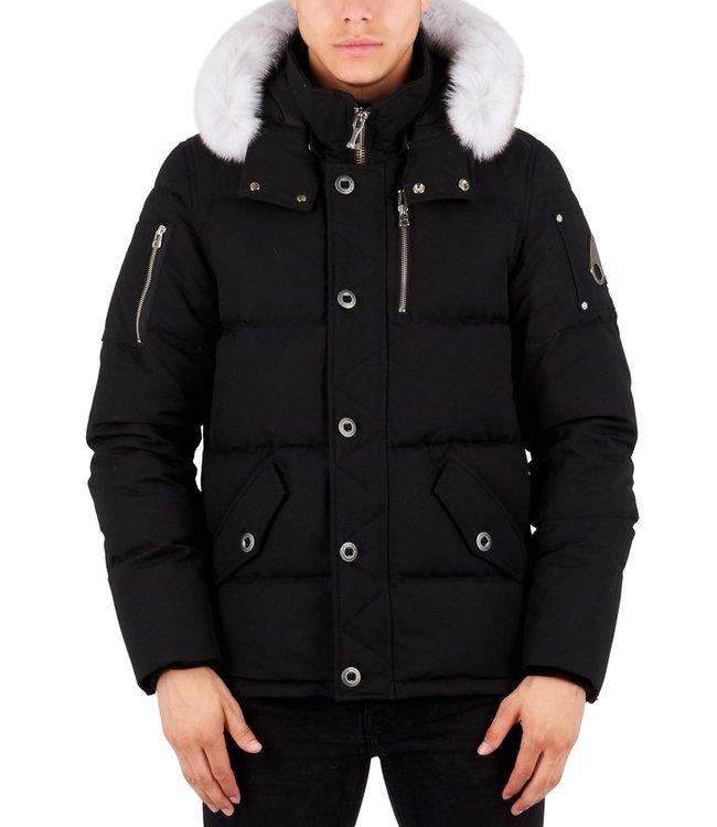 Moose knuckles Moose knuckles : 3Q Jacket Black-Natural fur