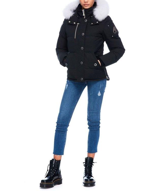 Moose knuckles Moose knuckles : Woman 3Q Jacket Black-Natural fur