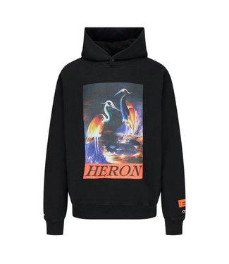 Heron Preston Heron Preston : Hoodie Birds-Black/Orange