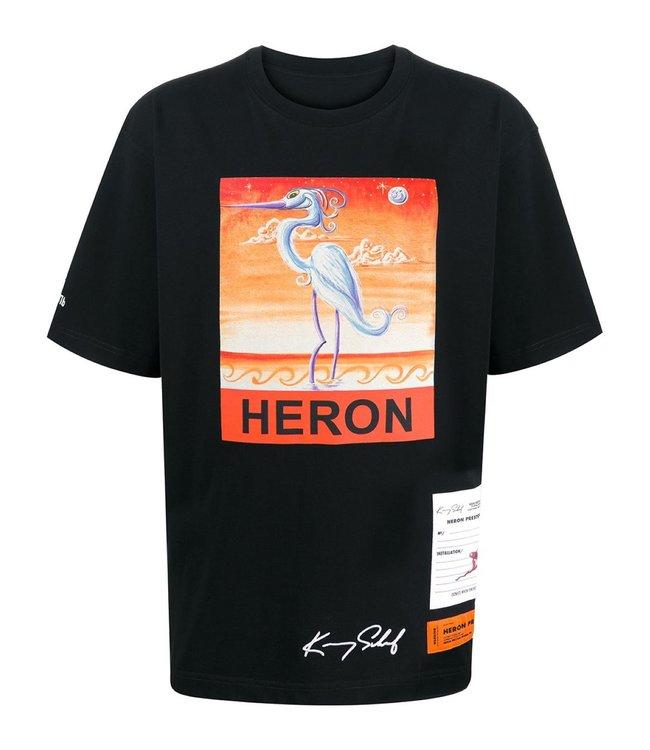 Heron Preston Heron Preston : T-shirt Kenny Scharf-Black/Orange