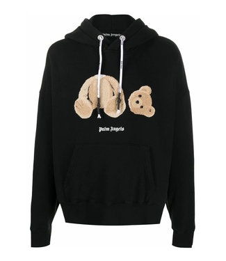 Palm Angels Palm Angels : Bear hoodie-Black