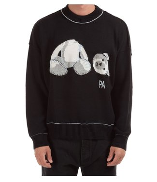 Palm Angels Palm Angels : Sweater Ice bear-Black